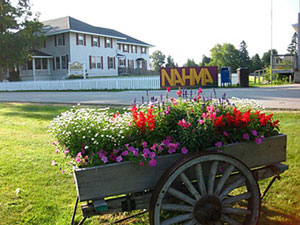 historic lumber town of nahma